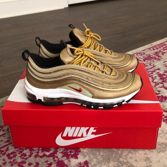 online store 8d6c4 9daac Nike Air Max 97 Gold